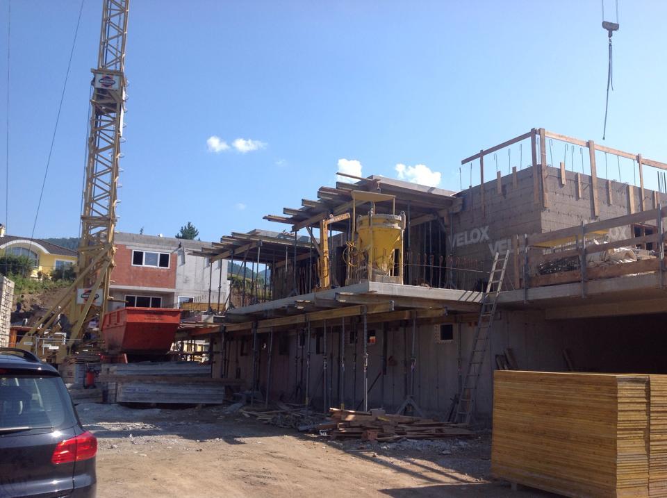 Villa Artula - Baufortschritt